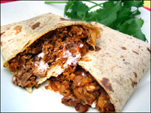 HG's Cheesy Beefy Supreme Wrap