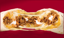 Taco Bell's Cheesy Beefy Melt