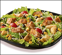 Wendy's SW Caesar... It's BACK!
