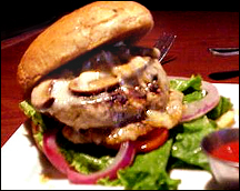 Ruby Tuesday's Bella Turkey Burger