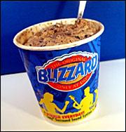 Dairy Queen's Mud Pie Blizzard
