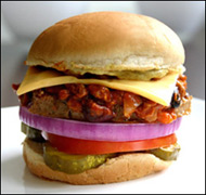 HG's Chili-rific Cheeseburger