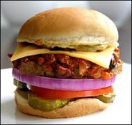 HG's Chili-rific Cheeseburger