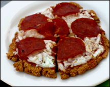 HG's Loaded 'n Oated Pepperoni Pizza