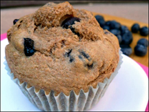 HG's Big Fat Blueberry Muffins