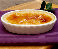 HG's 104-Calorie Creme Brulee