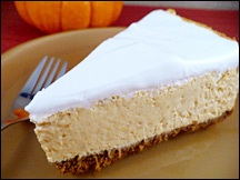 HG's Vanilla Crème Pumpkin Cheesecake