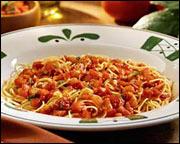 Hungry girl thursday newsletter for Olive garden capellini pomodoro