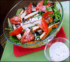 Snazzed-Up Crispy Crispy Chicken Salad