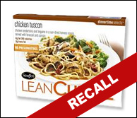 Lean Cuisine Recalls Chicken Meals