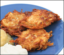 Latkes/Potato Pancakes, Average