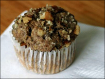 HG's Fluffy-Good Zucchini Nut Muffins