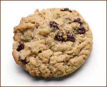 Oatmeal Raisin Cookie, Average