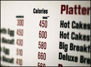 Calories + Menus = Working!!!