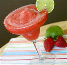 HG's Freezy-Fresa Strawberry Margarita