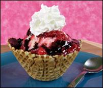 HG's Choco-Berry Waffle Sundae Surprise