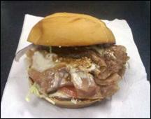 Arby's Bacon & Bleu Roastburger