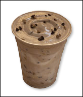 Wendy's Coffee Toffee Twisted Frosty