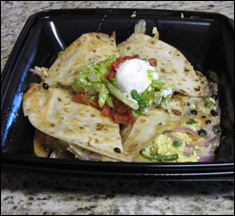 The Cheesecake Factory Morning Quesadilla