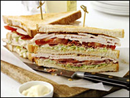 Turkey Club Sandwich, Average