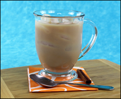 HG's Mr. Tea Iced Chai Latte