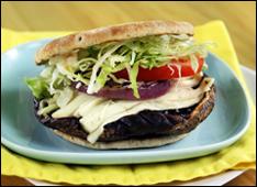 HG's Ring-My-Bella Mushroom Sandwich