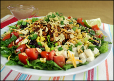 HG's Top-of-the-Chops BBQ Chicken Salad