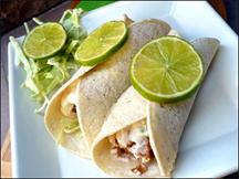 HG's San Diego Baja-Style Fish Tacos
