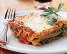 Lasagna, Average
