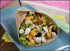 HG's Super-Stuffed Thanksgiving Wrap