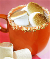 S'mores Hot Chocolate, a.k.a. Liquid S'mores