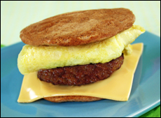Hungry G's Sausage, Egg 'n Cheese ChickGriddle