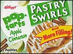 Pop Tarts Apple Cinnamon Pastry Swirls