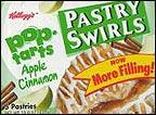 Pop Tarts Apple Cinnamon Pastry Swirls
