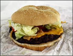 Burger King's A.1. Steakhouse XT Burger
