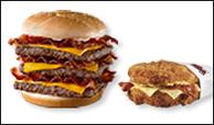 Triple Bacon Trumps Double Down!