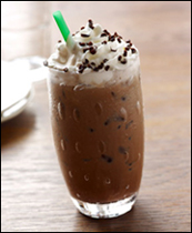 Starbucks Iced Dark Cherry Mocha