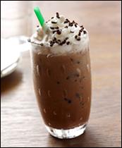 Starbucks Iced Dark Cherry Mocha