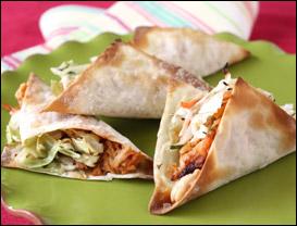HG's Sassy Wonton Tacos