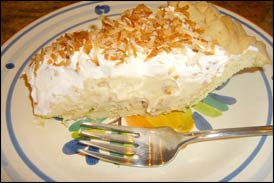 Coconut Cream Pie, Average