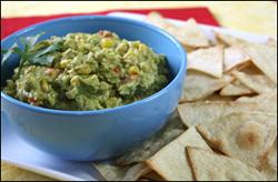HG's Rockin' Roasted Corn Guac 'n Chips