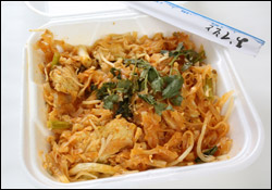 Chicken Pad Thai, Average