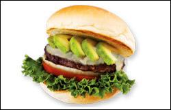 Avocado-Topped Cheeseburger, Average