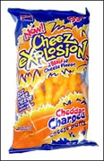 Lance Cheez Explosion Cheddar Charged Cheese Puffs