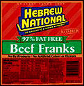 Hebrew National 97% Fat-Free Beef Franks