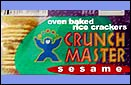 Crunch Master Crackers - Sesame