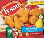Tyson Chicken Nuggets, Fun Shaped