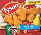 Tyson Chicken Nuggets, Fun Shaped