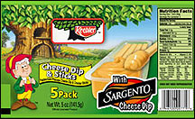 Keebler Cheese Dip & Sticks