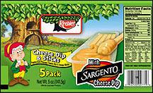 Keebler Cheese Dip & Sticks